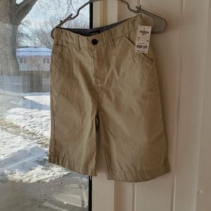 Osh Kosh NWT Longer Length Khaki Shorts